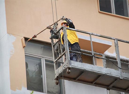 刷外墙漆时注意这些事项 可以让油漆持久有光泽